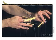 Hands Of A Puppeteer Carry-all Pouch