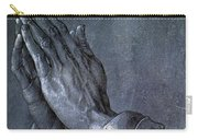 Hands Of An Apostle 1508 Carry-all Pouch by Philip Ralley