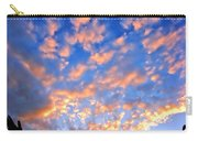 Hands Up To The Sky Showing Happiness Carry-all Pouch by Michal Bednarek