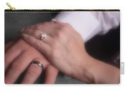 Hands With Wedding Rings Carry-all Pouch