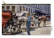Handsome Hansom Driver  Carry-all Pouch