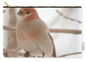 Handsome Pine Grosbeak Carry-all Pouch