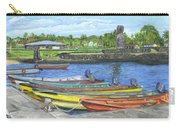 Hanga Roa Harbour Carry-all Pouch
