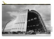 Hangar One At Moffett Field Carry-all Pouch by Underwood Archives