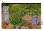 Hanged In Tombstone Arizona Carry-all Pouch