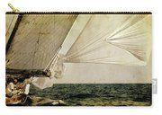Hanged On Wind In A Mediterranean Vintage Tall Ship Race  Carry-all Pouch