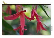Hanging Asian Lillies Carry-all Pouch