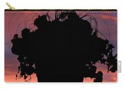 Hanging Basket Silhouette Carry-all Pouch