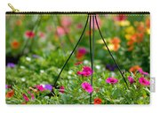 Hanging Flower Baskets Shallow Dof Carry-all Pouch