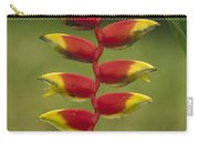 Hanging Heliconia Blooming In Rainforest Carry-all Pouch