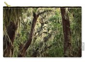 Hanging Moss And Giant Oaks Carry-all Pouch