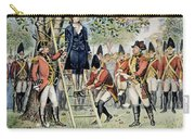 Hanging Of Nathan Hale Carry-all Pouch