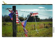 Hanging On - The American Spirit By William Patrick And Sharon Cummings Carry-all Pouch