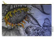 Hanging On To Life - Sunflower Carry-all Pouch