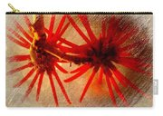 Hanging Spider Blooms Carry-all Pouch
