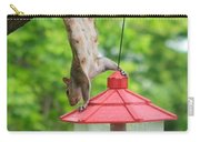 Hanging Squirrel Carry-all Pouch