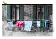 Hanging The Wash In Venice Italy Carry-all Pouch