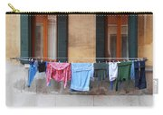 Hanging The Wash In Venice Carry-all Pouch