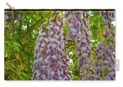 Hanging Wisteria Blossoms Carry-all Pouch