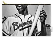 Hank Aaron Painting Carry-all Pouch