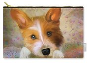 Hankie A Corgi And Westi Mix Cute Dog Carry-all Pouch