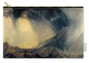 Hannibal And His Army Crossing The Alps Carry-all Pouch