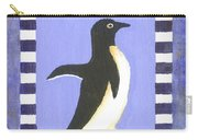Hanukkah Penguin Two Carry-all Pouch
