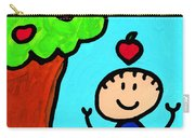 Happi Arti 6 - Sir Isaac Newton Art  Carry-all Pouch