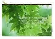 Happiness A Simple Reminder Carry-all Pouch