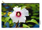 Happiness Shared Is The Flower Carry-all Pouch by Christi Kraft