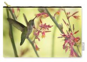 Happy As A Hummingbird  Carry-all Pouch