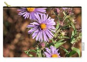 Happy Asters Carry-all Pouch