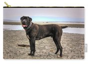 Happy Bandog On The Beach Carry-all Pouch