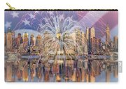 Happy Birthday America Carry-all Pouch by Susan Candelario