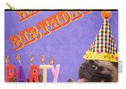 Happy Birthday Card Carry-all Pouch by Edward Fielding