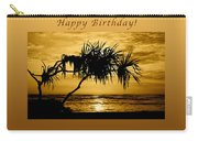 Happy Birthday Golden Sunrise Carry-all Pouch