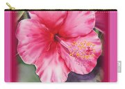 Happy Birthday Hibiscus  Carry-all Pouch