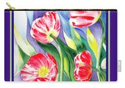 Happy Birthday Poppies Carry-all Pouch