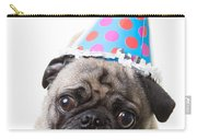 Happy Birthday Pug Card Carry-all Pouch