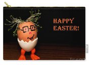 Happy Easter Greeting Card. Funny Eggmen Series Carry-all Pouch
