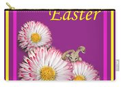 Happy Easter Hiding Bunny Carry-all Pouch