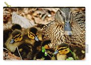 Happy Family Carry-all Pouch by Frozen in Time Fine Art Photography