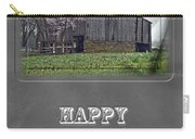 Happy Father's Day Greeting Card - Old Barn Carry-all Pouch