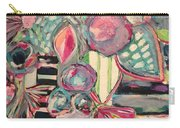 Happy Go Lucky Flowers Carry-all Pouch
