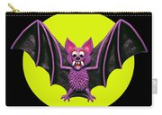 Happy Halloween Bat Carry-all Pouch