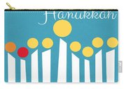 Happy Hanukkah Menorah Card Carry-all Pouch