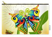 Happy Hippie Butterflies Carry-all Pouch