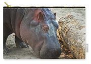 Happy Hippo Carry-all Pouch