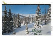 Happy Holidays - Winter Wonderland Carry-all Pouch