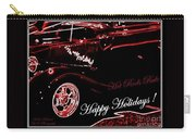 Happy Holidays Hot Rods Rule Carry-all Pouch